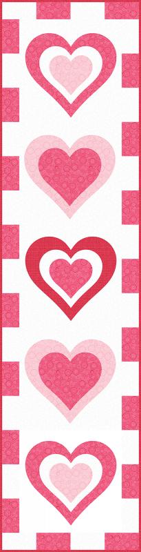 Be My Valentine Runner Vertical 1200 wide