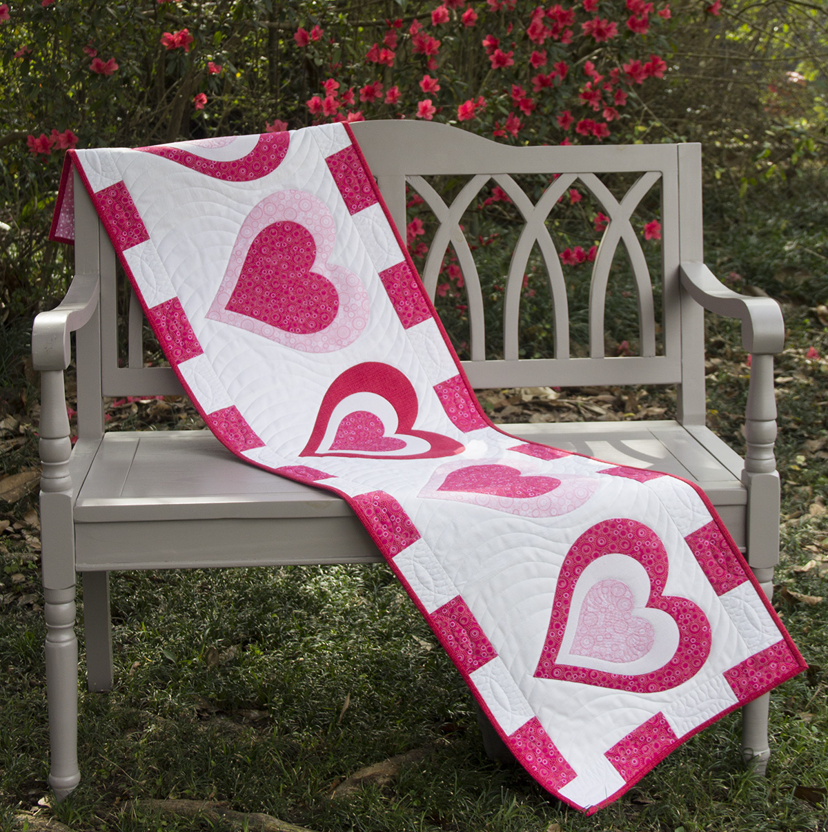Valentineu0027s Day Table Runner