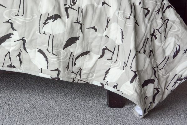 Channel Stitched Bedding DIY-578