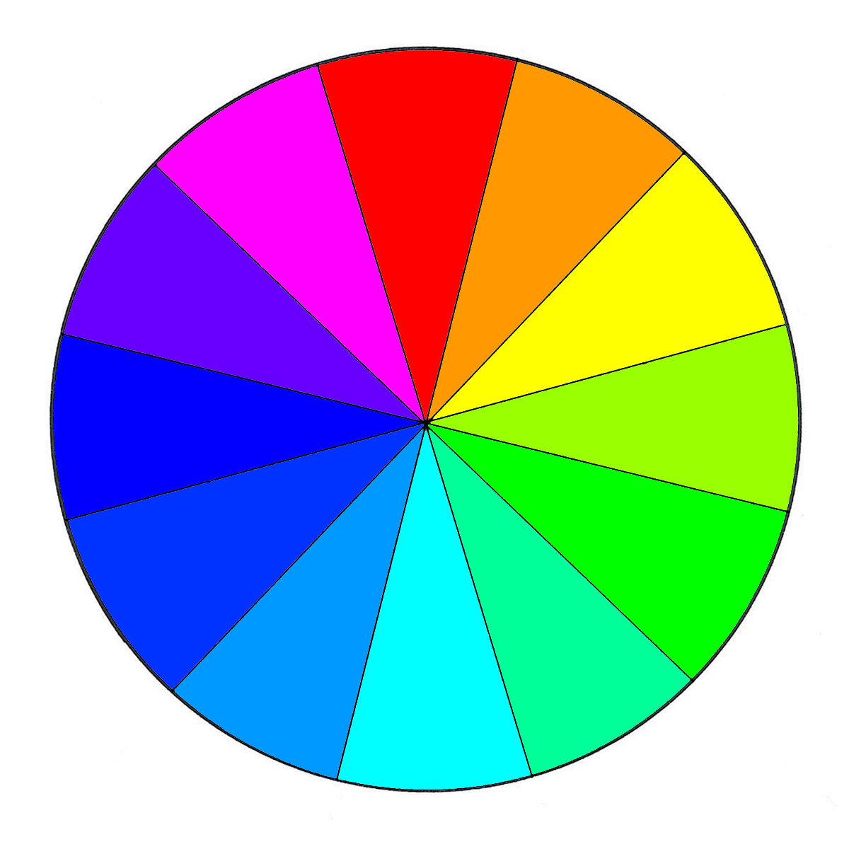 photo about Printable Color Wheel Pdf named Coloration Wheel Fundamental principles WeAllSew