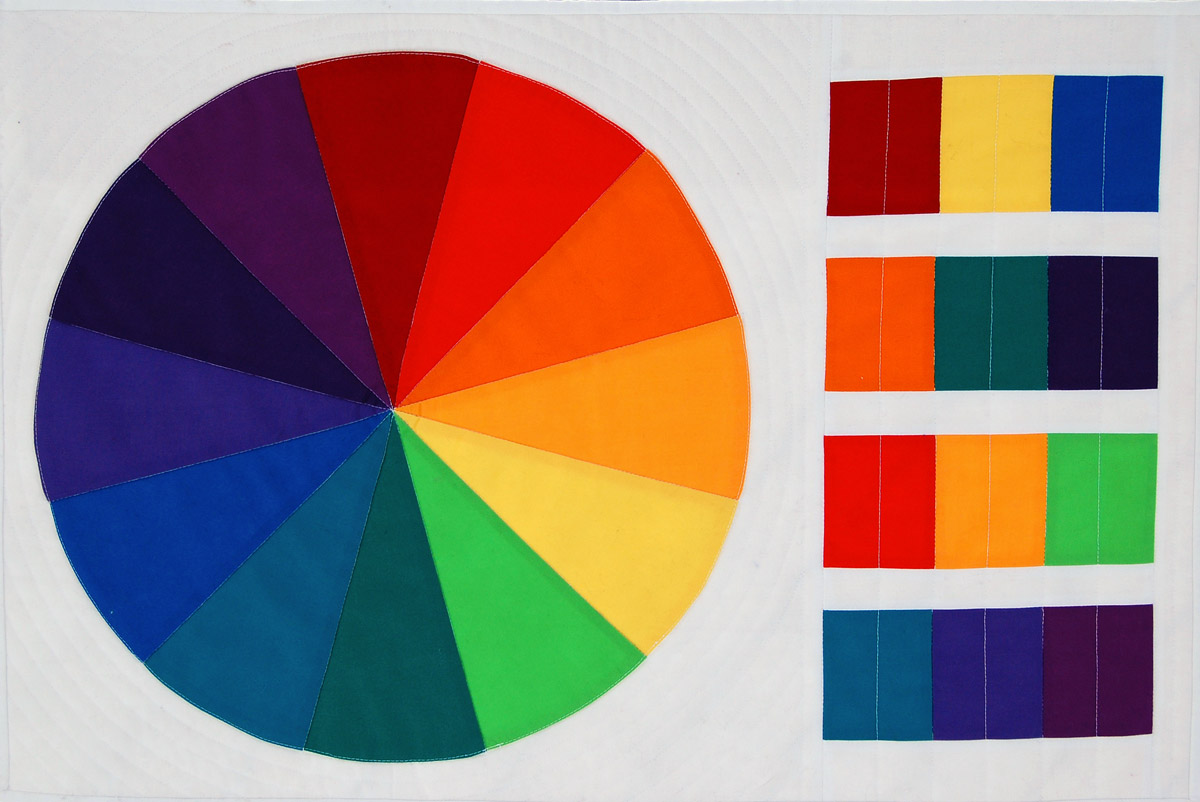 Color wheel basics weallsew color wheel basics for quilters fandeluxe Image collections