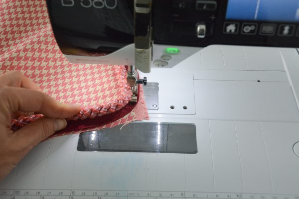 How to Sew Corded Square Pillow-289