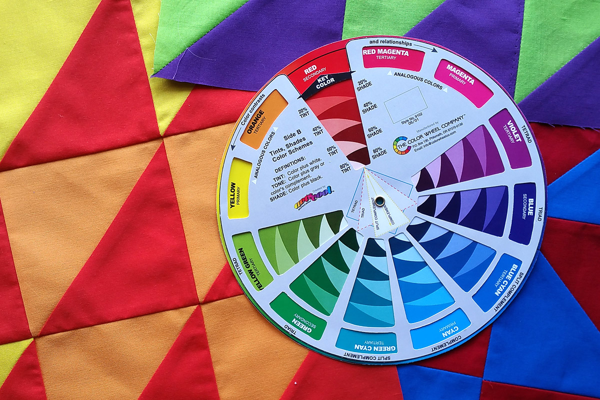 How To Use A Color Wheel Weallsew