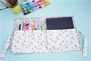 DIY Sketchbook and pen case
