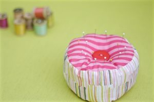 15-minute easy-sew pin cushion