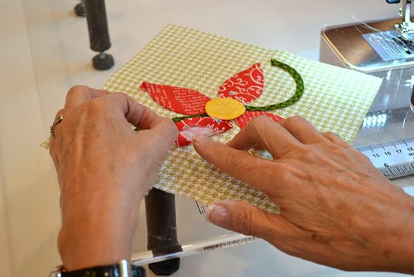 How to machine applique