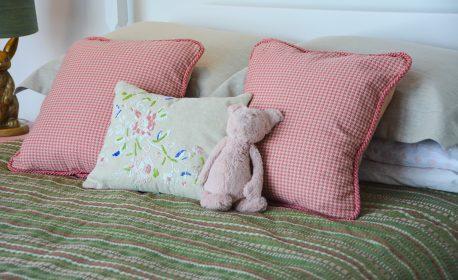 Pink Gold Bird Bedroom-355