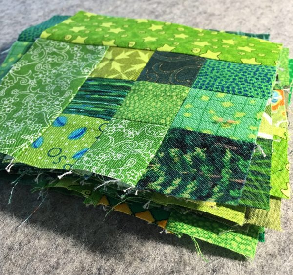 Shamrock Table Runner-make 12 blocks