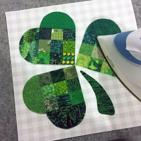 Shamrock Table Runner-Shamrock Table Runner-fusing