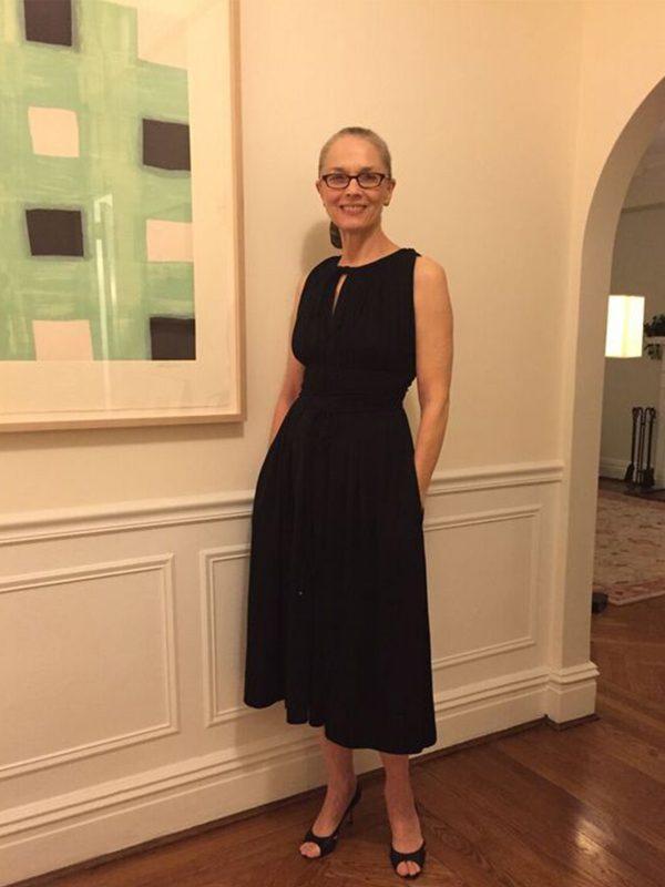 Julie Eilber's sister in dress