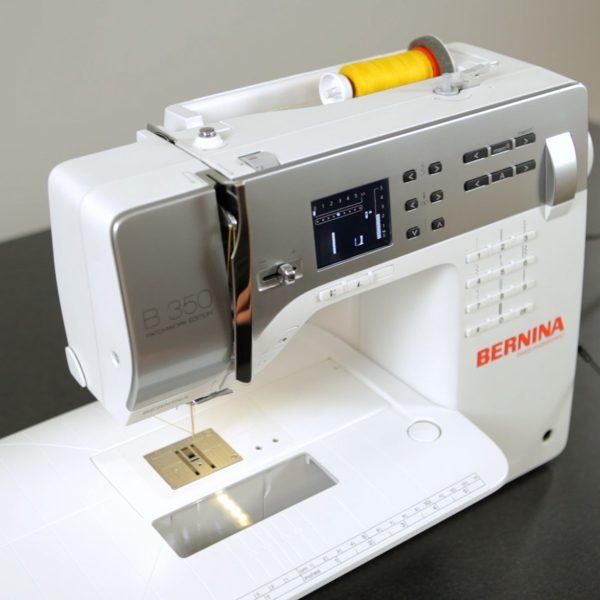 Blanket Scarf Tutorial-threaded machine