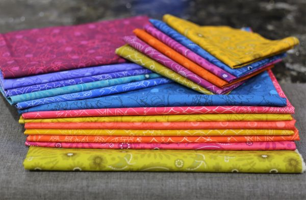 Block of the Month Introduction-Alison Glass fabrics