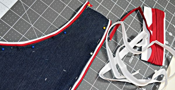 How to add piping to pockets