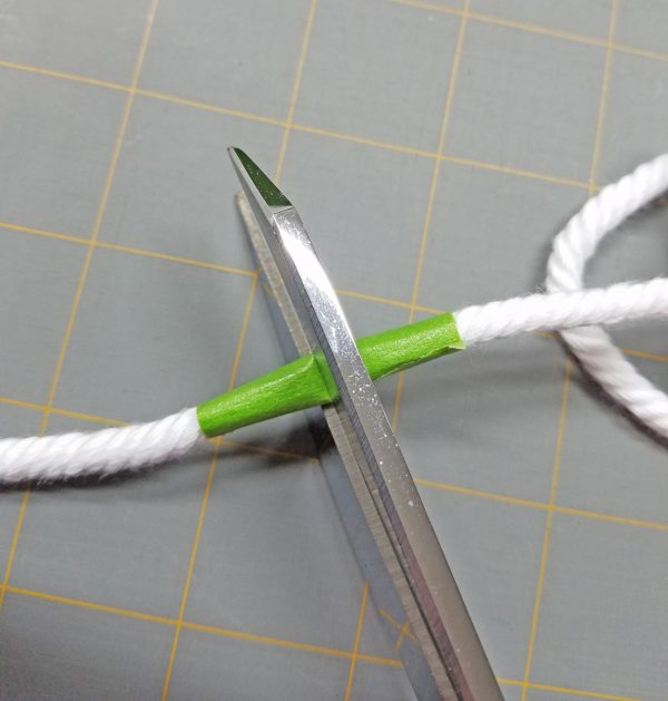 Antique Mosaic Drawstring Bag-Cutting Cord