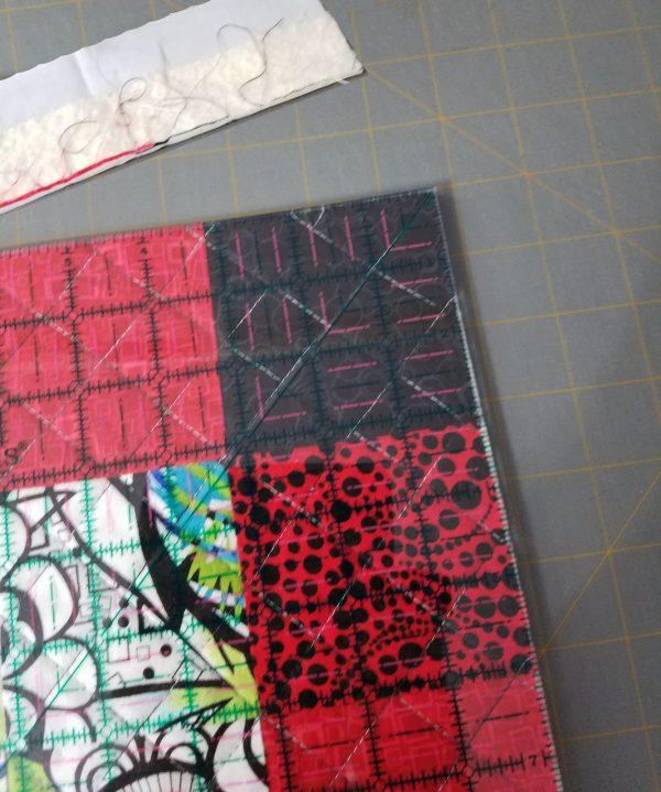 Antique Mosaic Drawstring Bag-Trimming