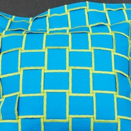Flange Pillow with distinctive edge