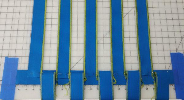 Flange Pillow Tutorial-begin weaving