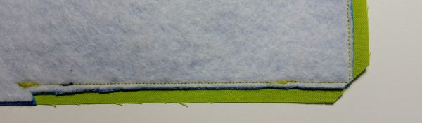 Flange Pillow Tutorial-trim corners