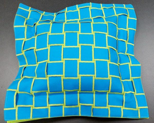 Flange Pillow with distinctive edges
