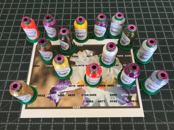 Introduction to Thread Painting-ISACORD 40