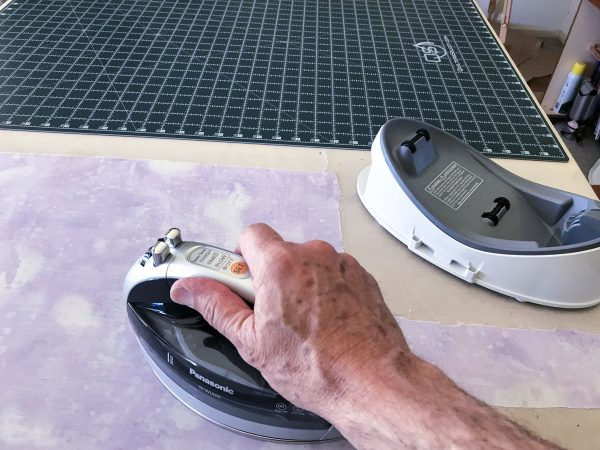 Introduction to Thread Painting-Panasonic 360° Freestyle Cordless Steam Iron