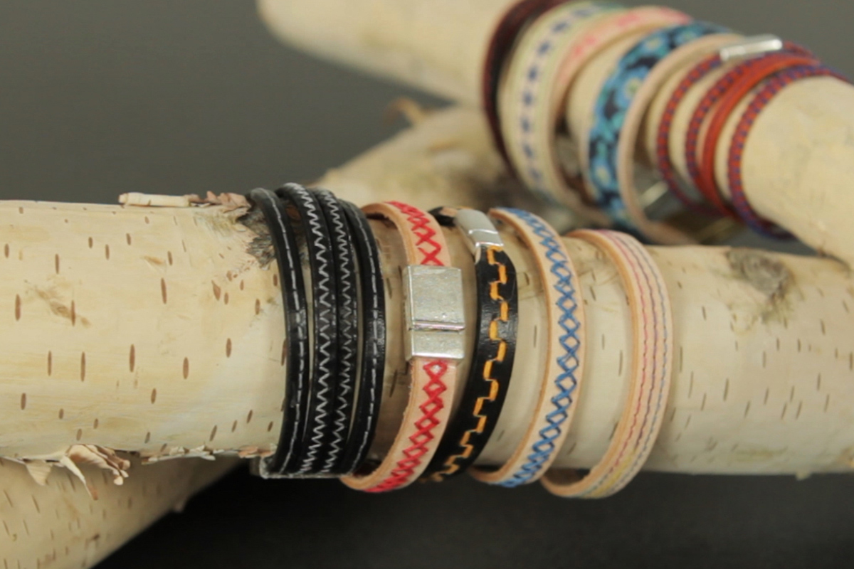 How To Sew Leather Bracelets Weallsew