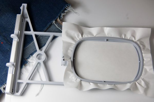 Preparing the Embroidery Hoop