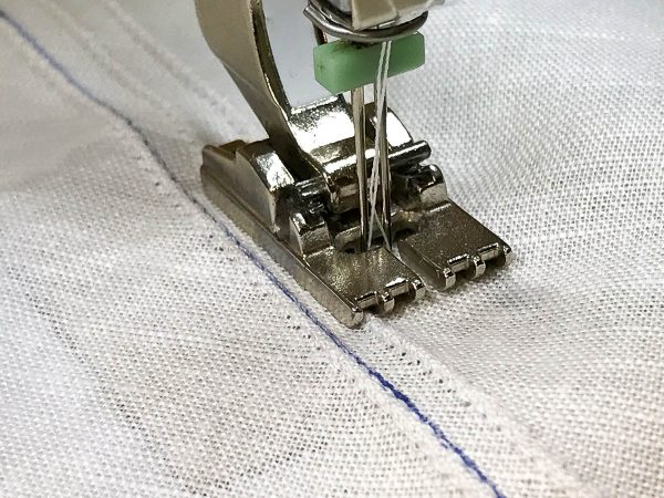 How to Sew with the Pintuck Foot