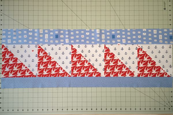 SeaBird Quilt step 8: continued