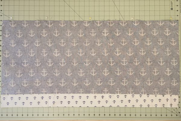 Sea Bird Quilt step 10: center panel