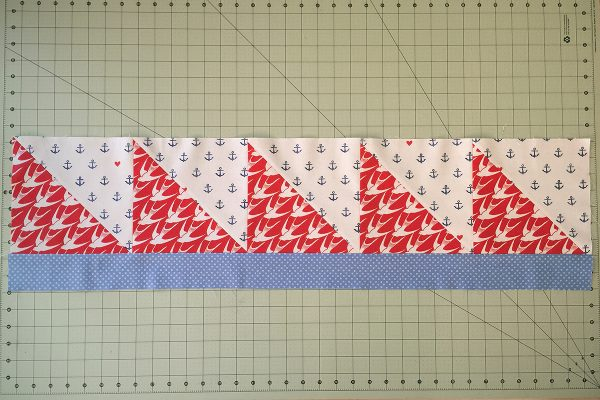 SeaBird Quilt step 7 continued