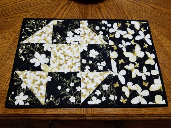 Shoofly Block Placemats