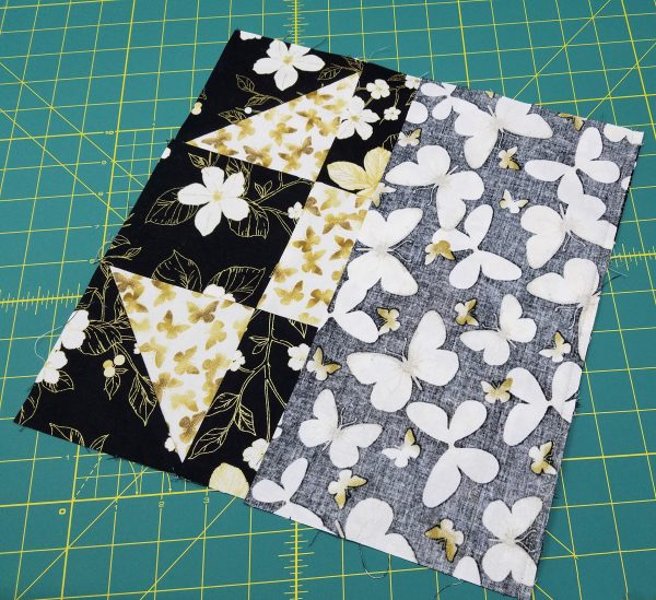 Shoofly Block Placemats-adding sides