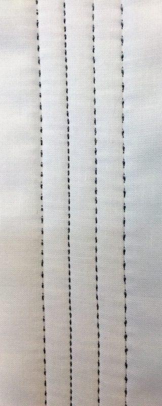 Shoofly Block Tutorial - Stitch Length