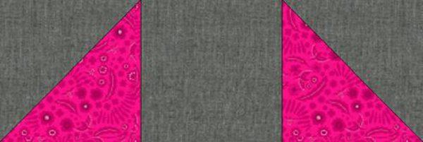 Shoofly Block Tutorial - strip of blocks