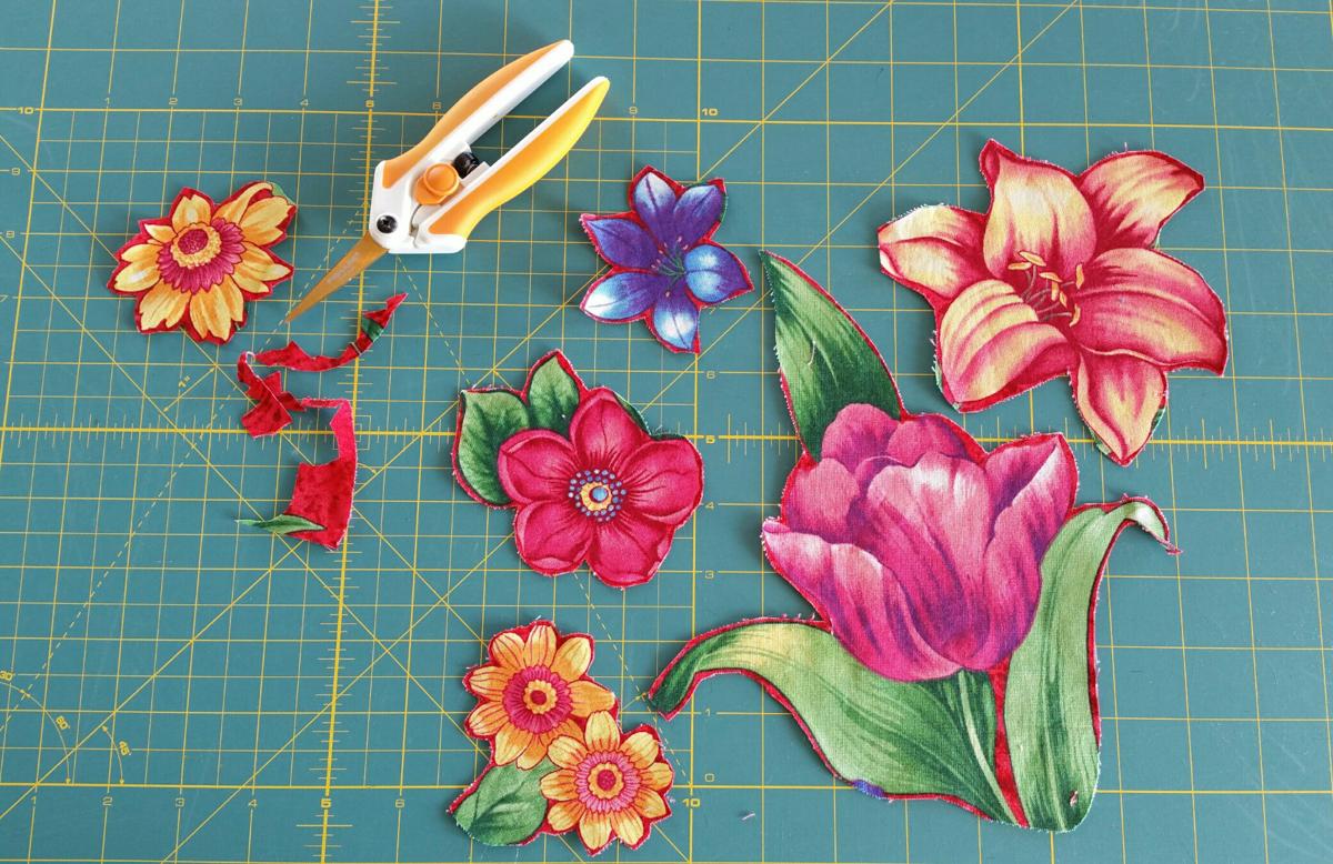 Spring Collage Quilt   WeAllSew : photo collage quilt - Adamdwight.com