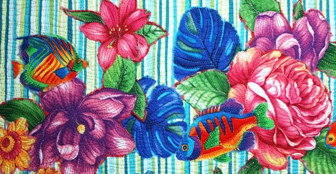 Spring Collage Quilt Tutorial
