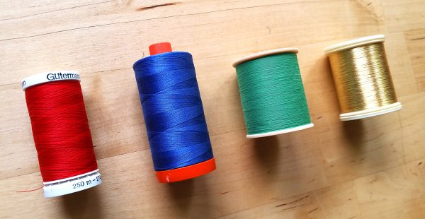 Thread spool tip