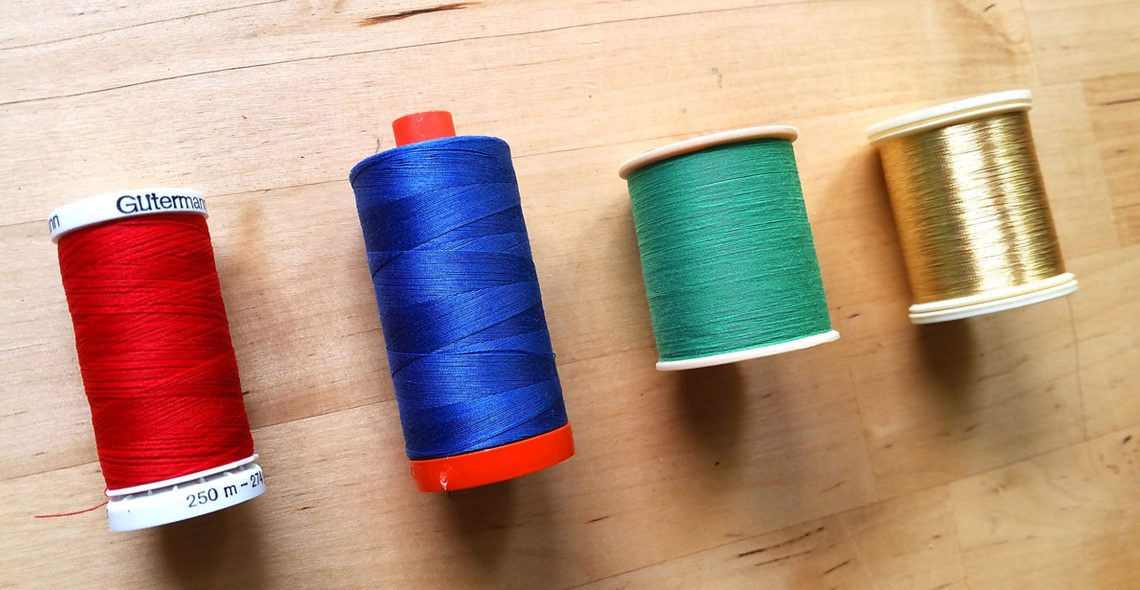 Thread spool tip from WeAllSew