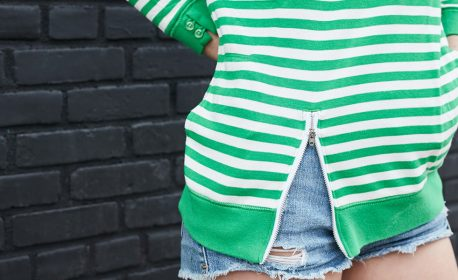 Zipper Sweater Tutorial