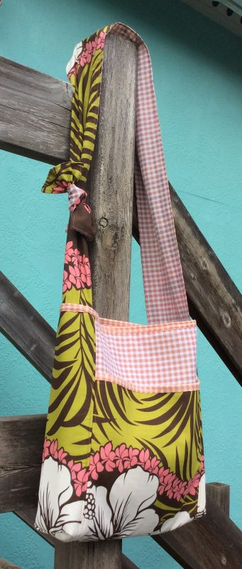Cross-body Bag Tutorial-Kehei bag finsihed