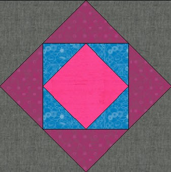 Construct two complete blocks from each color group