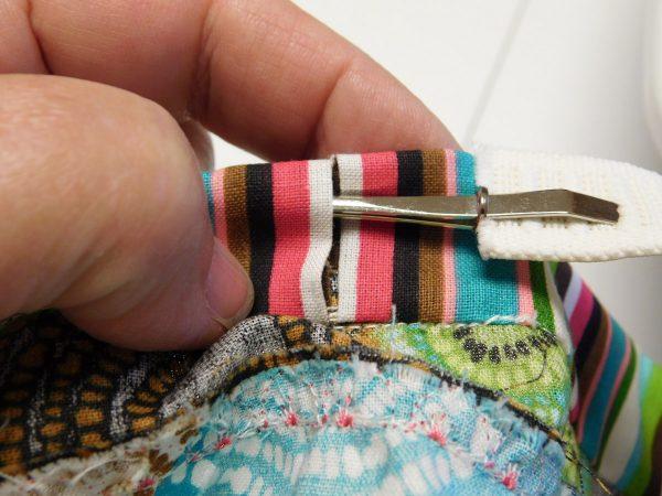 Spiral strip skirt