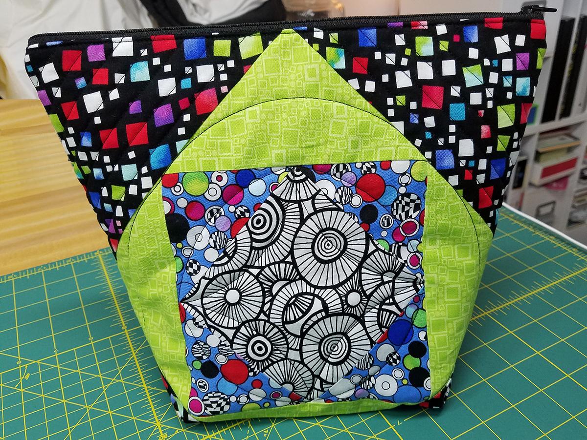 Square In A Square Zipper Bag Weallsew