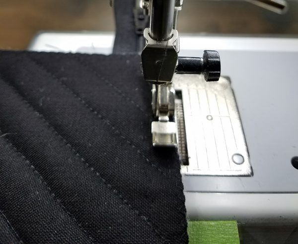 Square in a Square Zipper Bag - First Side