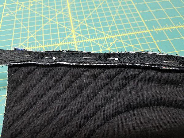 Square in a Square Zipper Bag - Second side