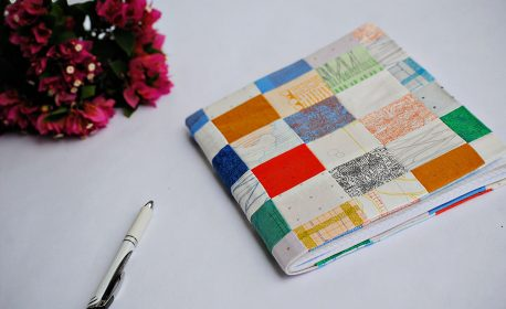 Mini Charm Pack Notebook Tutorial 1200 x 803 We All Sew Blog