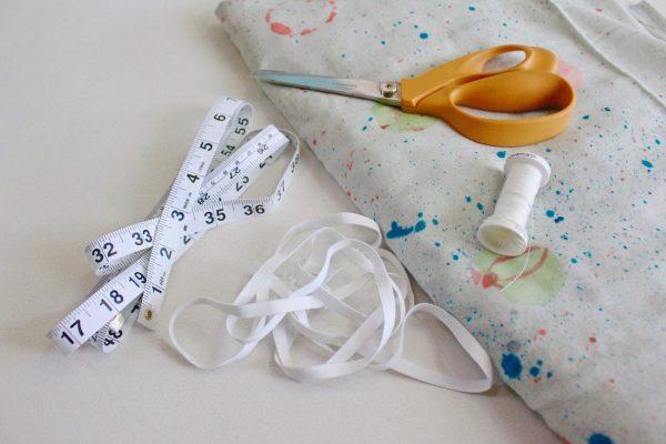A-line skirt tutorial materials