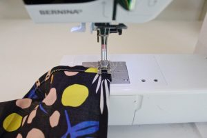step 28: Sew the bottom hem