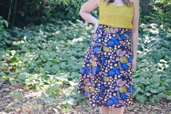 How to Sew a Wrap Skirt